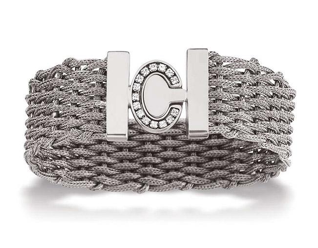 60e7f92cd45e2a DESCRIPTION   Bracelet tressé - largeur   20mm - Longueur   21 cm. MÉTAL    Argent 925 ‰ POIDS   34,95 gr. PIERRES   Oxydes de zirconium. Réf    AFBR-4589AR